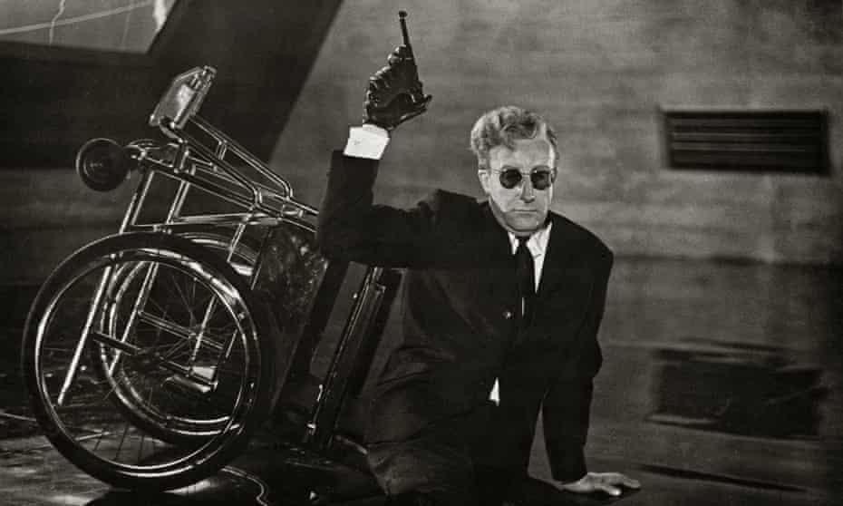 Peter Sellers as Dr Strangelove in the 1964 film