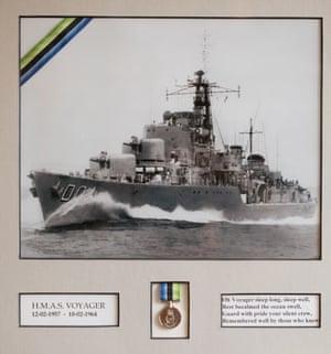 Alan Hellier HMAS Voyager