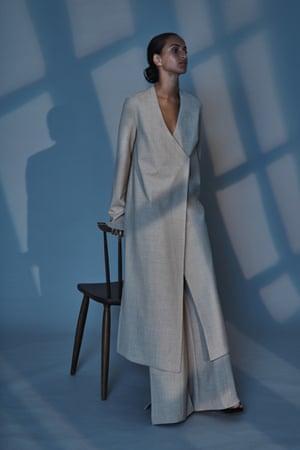 Jacinta James repurposed wool outfit