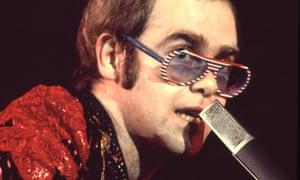 Elton john in 1970s