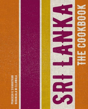 Sri lanka the cookbook cover