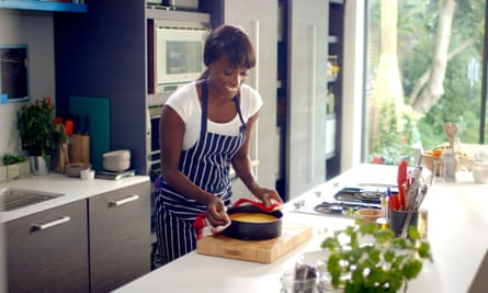 On cooking: 'I've been asked the Bake-Off question.'