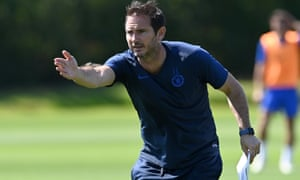 Frank Lampard during Chelsea training session