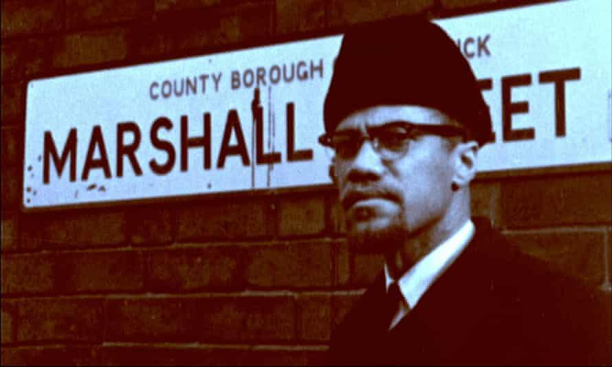 Malcolm X visits Smethwick in 1965.
