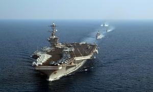 USS Theodore Roosevelt task force