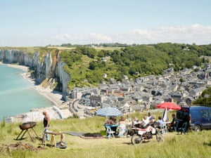 British photographer Simon Roberts spent more than two years travelling through Normandy as part of an ongoing project by the Centre Photographique in Rouen to explore how people live in, and use, the landscapes of the region. His work captures a trail of local fetes, parades and leisure activities, including this scene of friends adopting a corner of the Yport cliffs for a barbecue as if they were in their own garden. A collection of Roberts' photographs – Normandy, Nos Jours de Fêtes – is on show at Pôle Image Haute-Normandie (poleimagehn.com) in Rouen until 30 September.