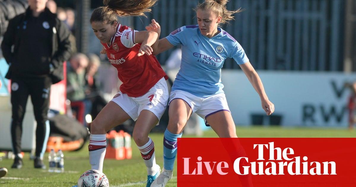 Arsenal v Manchester City: Womens Super League – live!