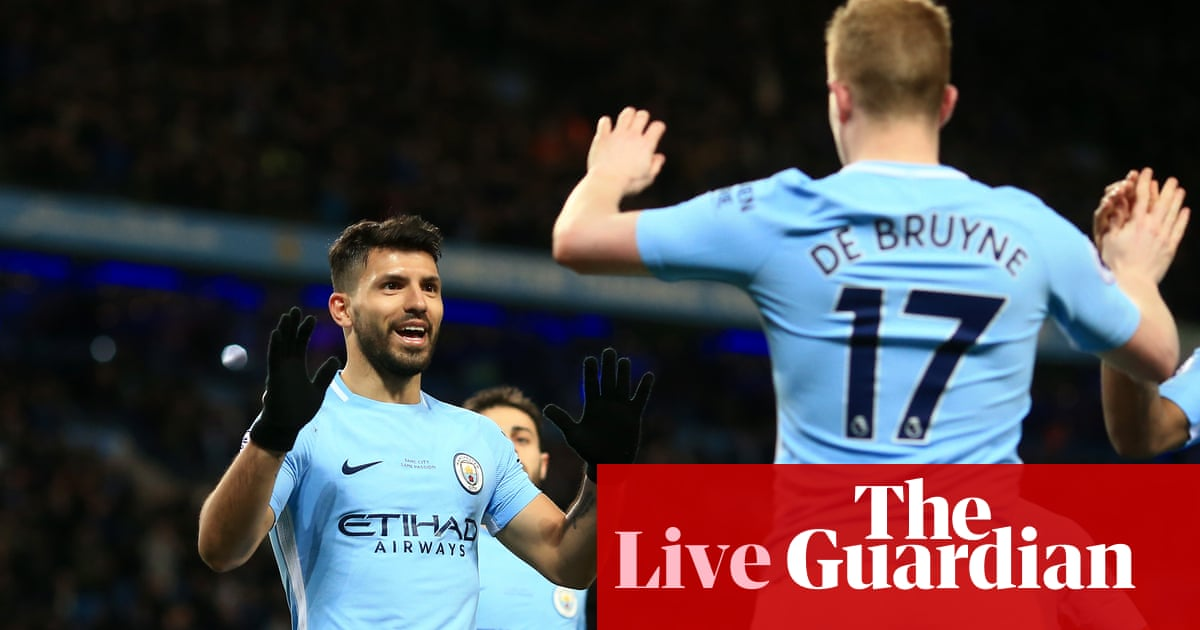 19c8ca2d5 Chelsea v Manchester City build-up and more  Premier League news – as it  happened