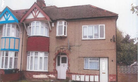 Dilapidated house in north London