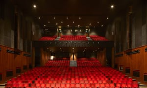 Plush … one of the two auditoria.