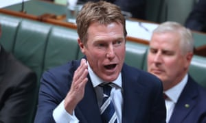 Christian Porter speaks during question time