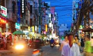 Ho Chi Minh City, formerly Saigon, is now a bustling megacity.