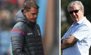 Frank de Boer and Roy Hodgson