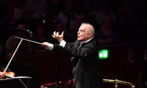 Daniel Barenboim conducts the Staatskapelle Berlin at the 2017 BBC Proms at the Royal Albert Hall
