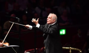 Daniel Barenboim at Prom 2.