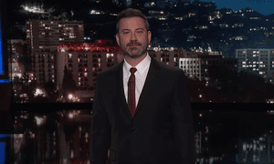 Jimmy Kimmel: 'She's not ever coming back. She might not even finish out that meeting.'
