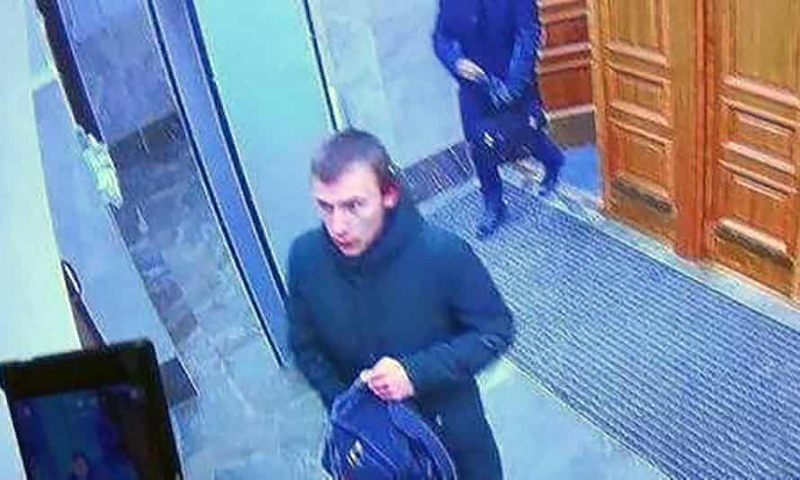CCTV screengrab of teenager in FSB offices