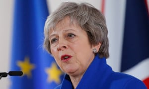 Theresa May 'expects MPs to buckle at the cliff edge and finally back her deal.'