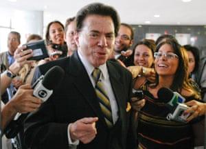 Land plots … Silvio Santos.