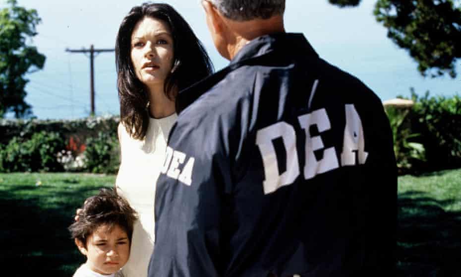 Catherine Zeta-Jones in Traffic. Victories in an unwinnable war are personal, Soderbergh implies, and hard-won.