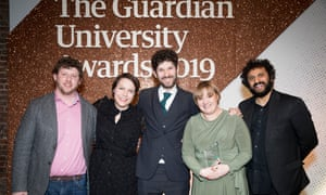 Social and community impact award (sponsored by Wonkhe) winner: King's College London. Parent Power at King's College London recruits and trains parents to become experts in university access