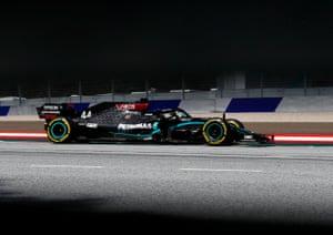 Hamilton maintains his lead.