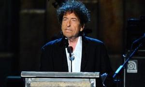 It weren't me, babe ... Bob Dylan.