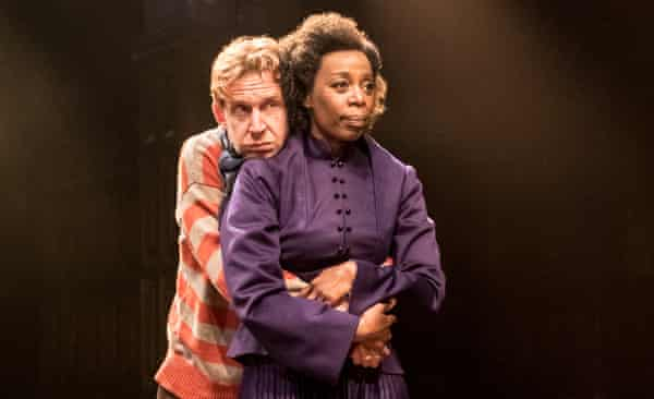Noma Dumezweni as Hermione with Paul Thornley as Ron Weasley in Harry Potter and the Cursed Child