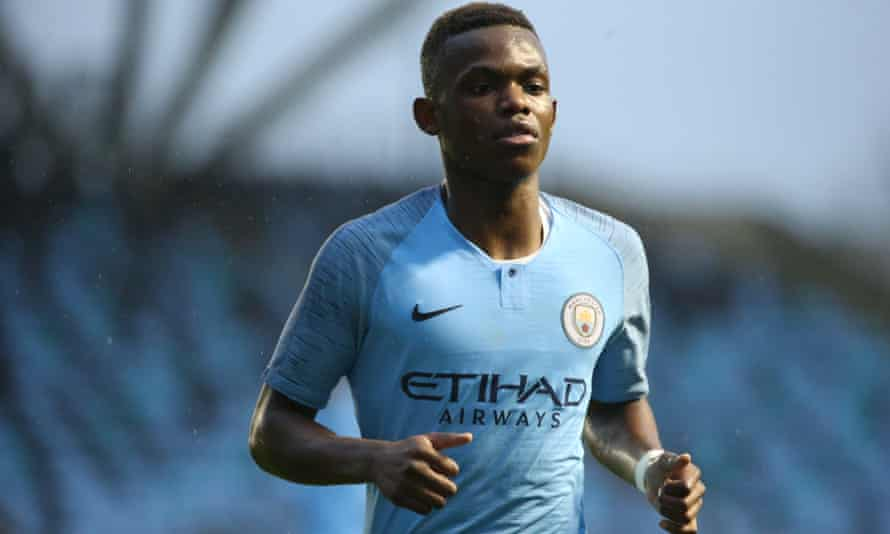 Rabbi Matondo is yet to play for Manchester City's first team but made his senior debut for Wales in November.
