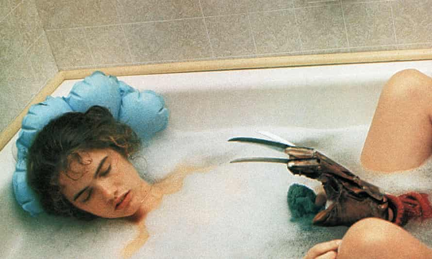 'To this day I find it scary to take a bath'... Heather Langenkamp as Nancy