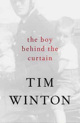 Cover image for The Boy Behind The Curtain by Tim Winton