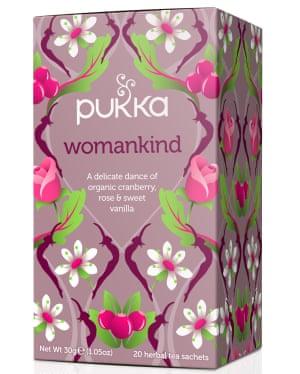 Pukka's Womankind tea.