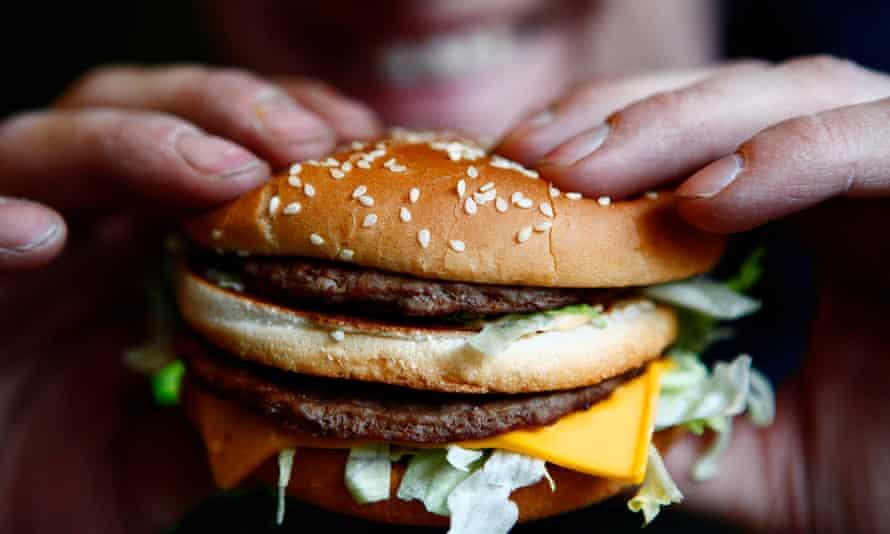 Lovin' it? A Big Mac burger