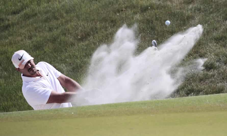 Brooks Koepka's language can be as explosive as his golf.