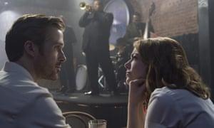 'Tender, wily sadness': Ryan Gosling and Emma Stone in La La Land