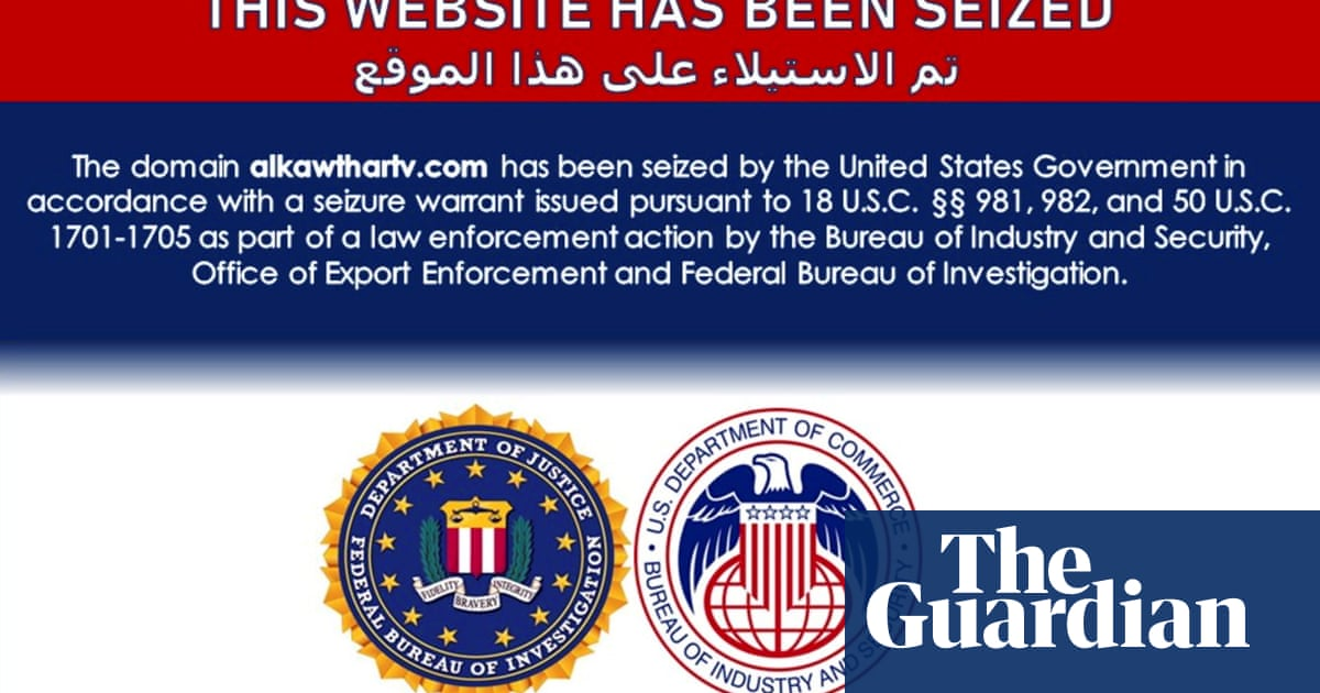 US takes down dozens of Iran-linked news sites, accusing them of disinformation