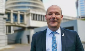 Former National party MP Andrew Falloon at parliament.