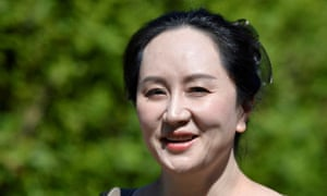 Huawei's chief financial officer Meng Wanzhou was arrested in Canada in 2018.