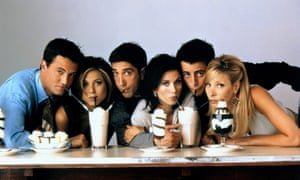A promotional shot for Friends, Season 3, which aired in 1996