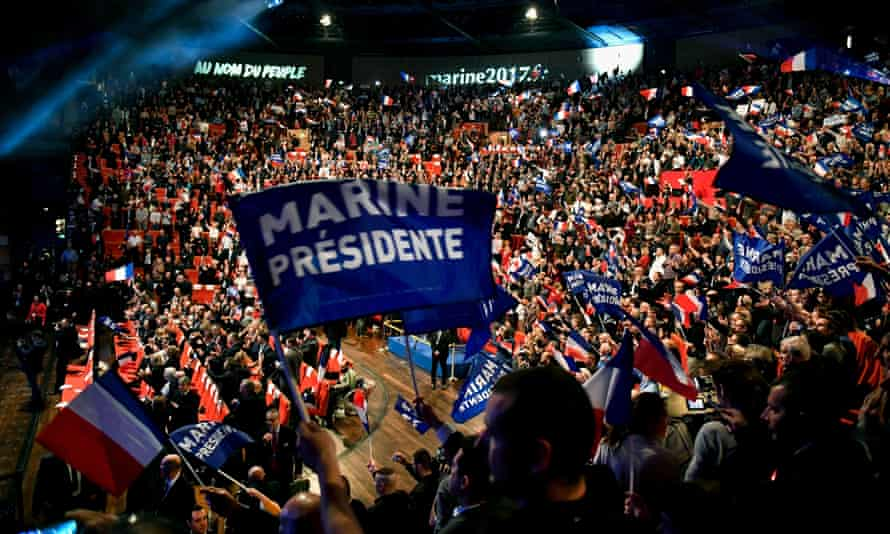 Launch of the Le Pen campaign on 5 January in Lyon