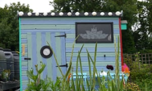One of the runners-up in the 2018 allotment shed of the year competition.