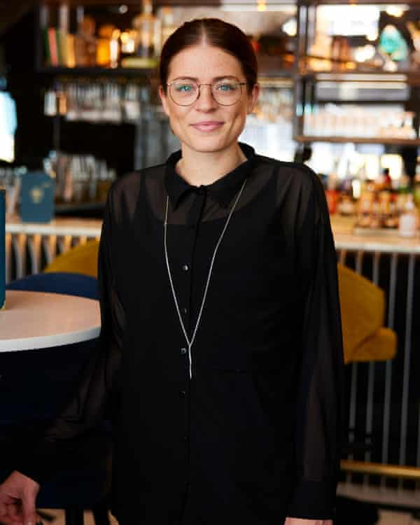 Charlotte O'Neill, deputy general manager at Three Little Words gin bar.