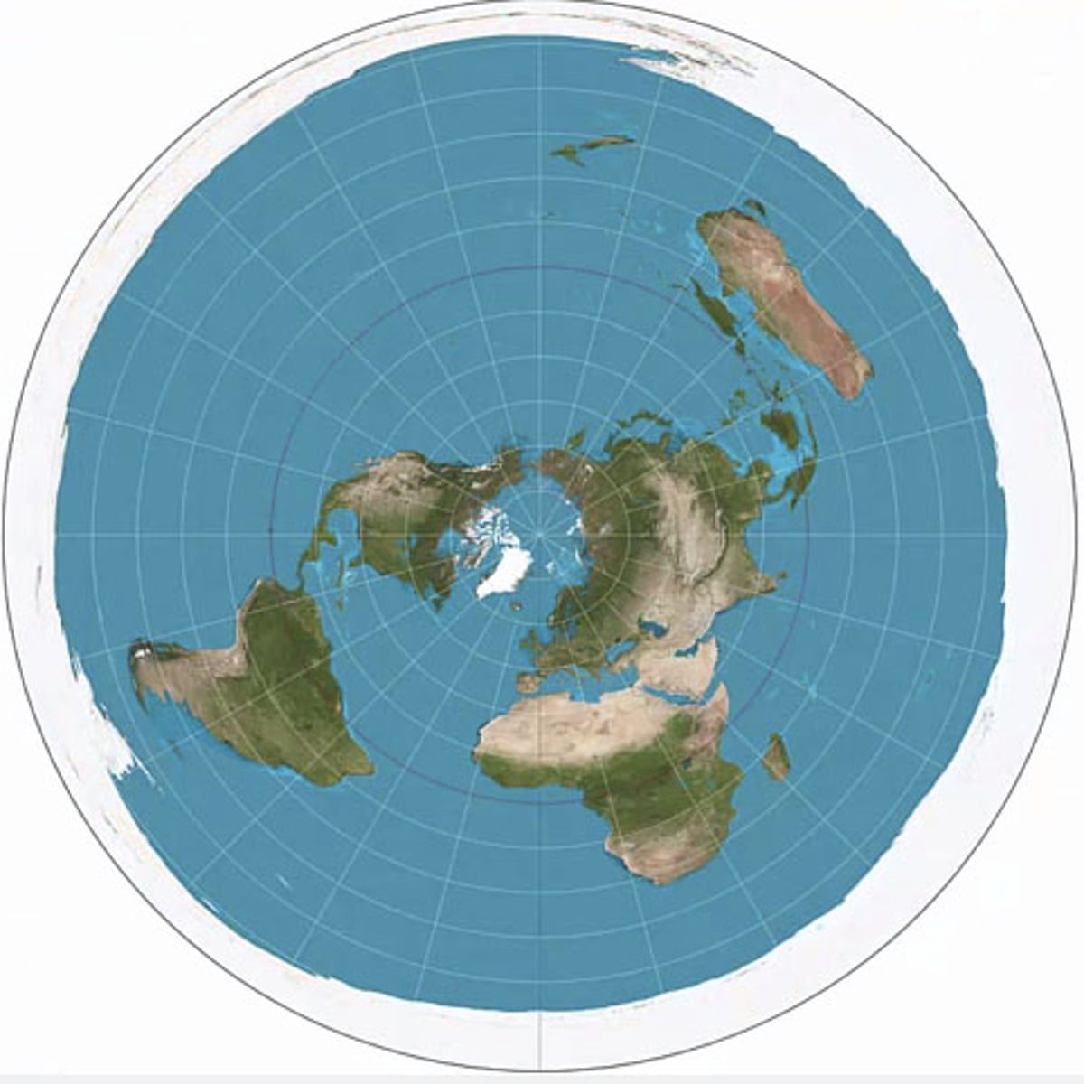true flat earth map Flat Earthers Are Back It S Almost Like The Beginning Of A New Religion Science The Guardian