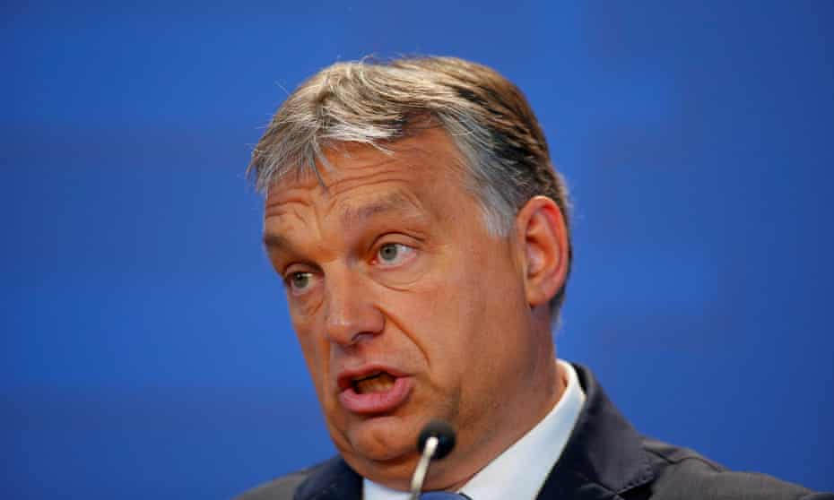The Hungarian prime minister, Viktor Orban, said: 'The Democrats' foreign policy is bad for Europe, and deadly for Hungary.'