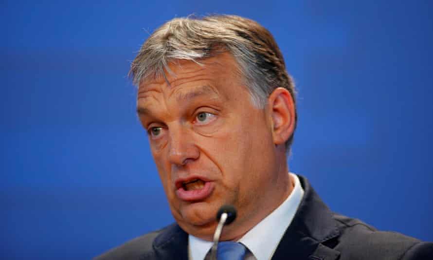 Viktor Órban, the Hungarian prime minister