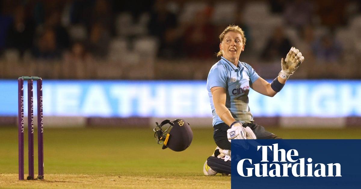 Heather Knight's England century seals ODI series win over New Zealand