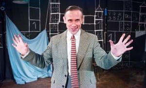 Ian Hallard as Alan Turing.