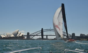 Black Jack (left) and Wild Oats XI will battle it out in the Sydney to Hobart yacht race.