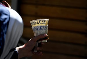 Around 100 people a day in Melbourne are turned away from homelessness services.