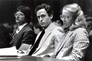 Ted Bundy in court, 1979.